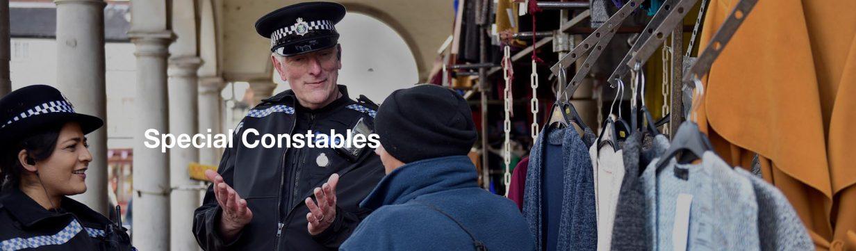 Special Constables Header Image