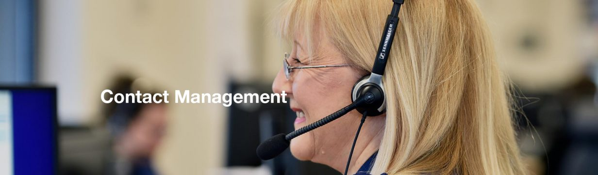 Contact Management Header Image