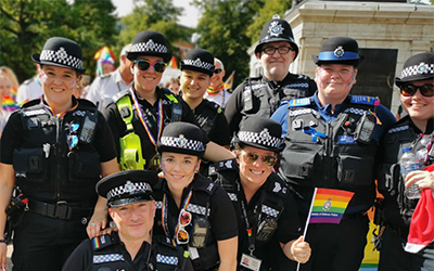 LGBT+ Photo of Officers